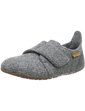 Bisgaard Unisex-Kinder Hausschuhe-Wool Velcro Slipper