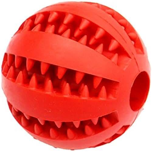 regalos tus mascotas mas kawaii Pelota de juguete para perros Idepet, no tóxica, resistente a las mordidas, para perros, gatos y cachorros, pelota para limpiar los dientes de tus mascotas, para darles alimentos, pelota de ejercicio que aumenta su inteligencia