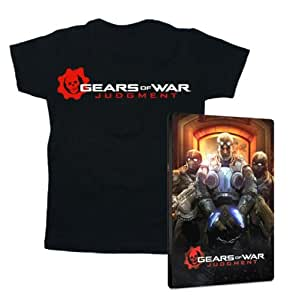 Steelbook Gears of War : Judgment + T-Shirt 'Gears of War : Judgment' - Taille L
