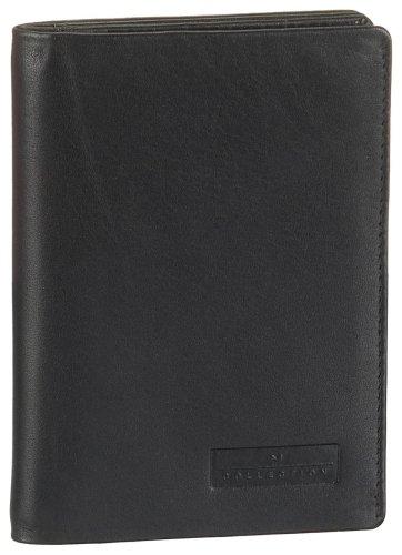 Maitre Melmak Aro Wallet V6 4900000265 Damen Ausweis- & Kartenhüllen 9 x 6 x 1 cm (B x H x T), Schwarz (black 900)