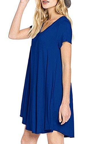 ASCHOEN - Robe - Femme Bleu