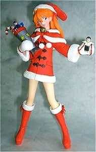 Neon Genesis Evangelion Santa Asuka Langley 10-inch PVC Statue 1/6 Scale