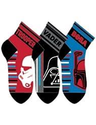 disney Pack 3 calcetines Star Wars Red
