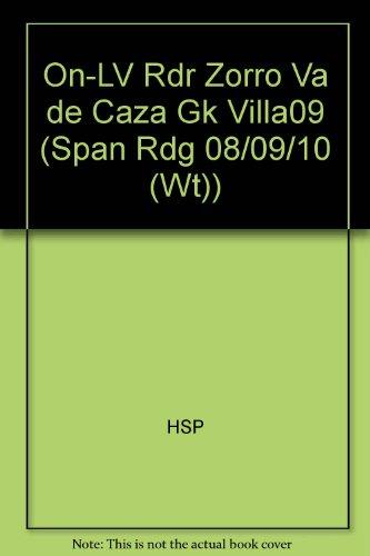 On-LV Rdr Zorro Va de Caza Gk Villa09 (Span Rdg 08/09/10 (Wt)) por HSP