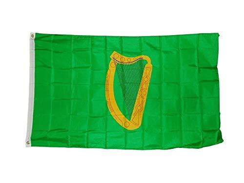 5' Outdoor Indoor Banner (3x5 Leinster Flag Irish Province Banner Ireland Pennant Indoor Outdoor 3x5 Foot)