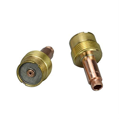 45V116 1/16'' Grand diamètre TIG Gzs Lens Collet Corps SR WP CK 17 18 26 Torche de Soudage Tig 2pk