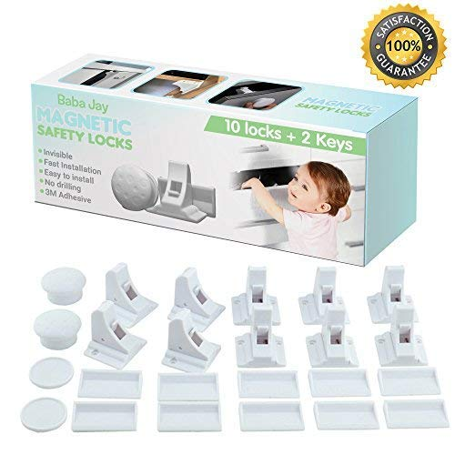 Magnetic Child Safety Locks for Cupboards and...