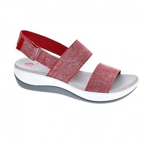 clarks-arla-jacory-scarpe-stringate-donna-rosso-red