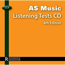 OCR AS Music Listening Tests by Music Sales (2013) Audio CD