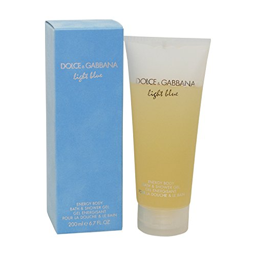 Dolce & Gabbana Light Blue Shower Gel, 1er Pack (1x200 ml)