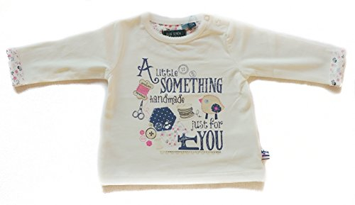 blue seven Camiseta de Manga Larga  Para Bebé Niña Weiß 62 cm