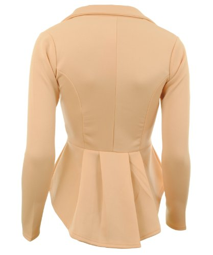 Gracious Girl - Veste de tailleur -  - Blouson Femme Beige - Nude