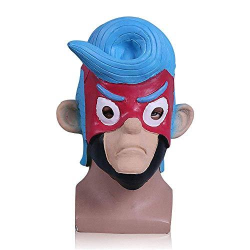 YaPin Nintendo Switch Spiel God Arms ARMS Maske Spiel um Halloween Head Set Requisiten Cos (Halloween Toten Make-up Armee)