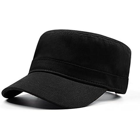 Versión coreana de la gorra plana/Caps de oleadas de color sólido/Cap al aire libre/Hombres y Cap