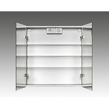 Jokey Spiegelschrank LyndALU aluminium: Amazon.de: Küche & Haushalt