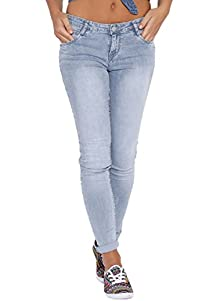 8f1297296ad Fourgee Casual Slim Fit Denim Jeans For Women (grey