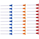 """MagiDeal 30 Pieces Mixed Color Eco-Friendly & Durable Plastic Golf Tees 83mm/3.3"""""""