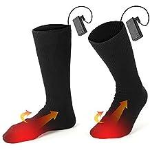 Calcetines Térmicos Calcetines Calientes Climatizada para Hombre y Mujer Pie Calor control Térmica Ideal para practicar
