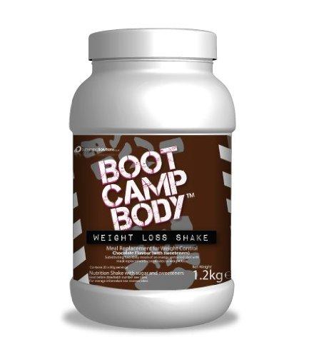 Nahrungsersatz Protein-pulver Schüttelt Für Gewichtsverlust - Schokolade Aromatisiert Boot Camp Body VLCD getränke (Pulver-boot)