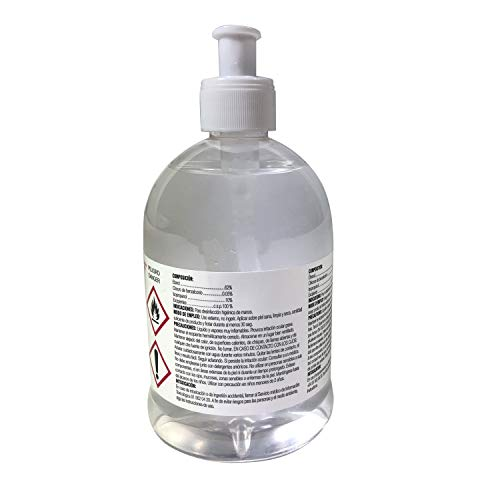 Gel hidroalcohólico Betafar 500 ml (2)