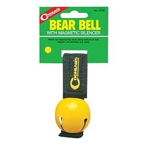 Coghlans Magnetic Bear Bell - Yellow