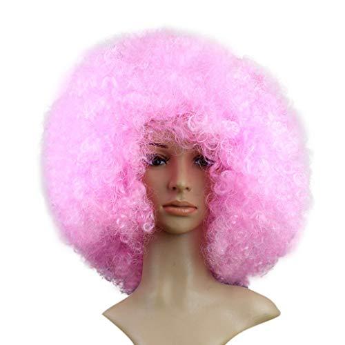 ODJOY-FAN Groß Explosiver Kopf Perücken Flauschige Karneval Perücke Lustig Haarteile Perücke Party Wigs - Erwachsene Kind Tragbar (F,1 PC)