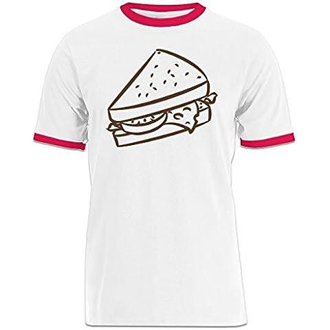 Camiseta contraste Sandwich by Shirtcity