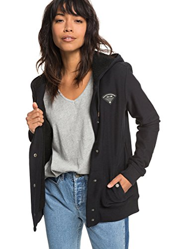 Roxy Wind Swept - Button-Up Hooded Jacket for Women - Frauen Button-up-mantel