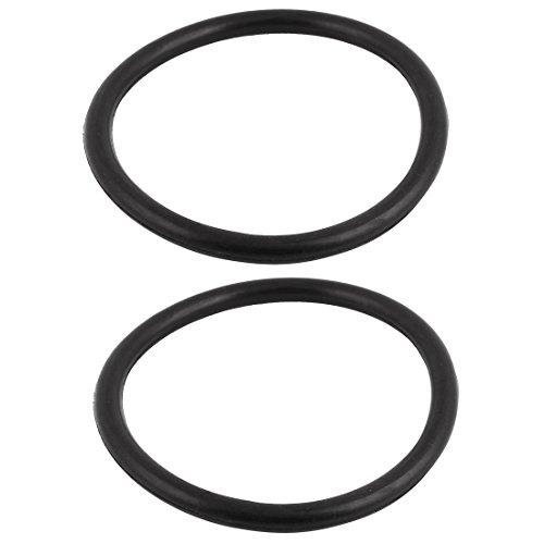 Lot de 10 rondelles d/'/étanch/éit/é en caoutchouc 115/x 5/mm Noir