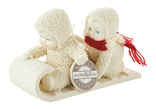 Snowbabies Classics - on the Hill of the Kristi We Go Decorative Figure