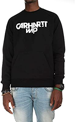 Carhartt Shatter Heavy Sweat Black White - S