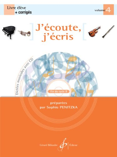 J'Écoute, J'Ecris Volume 4