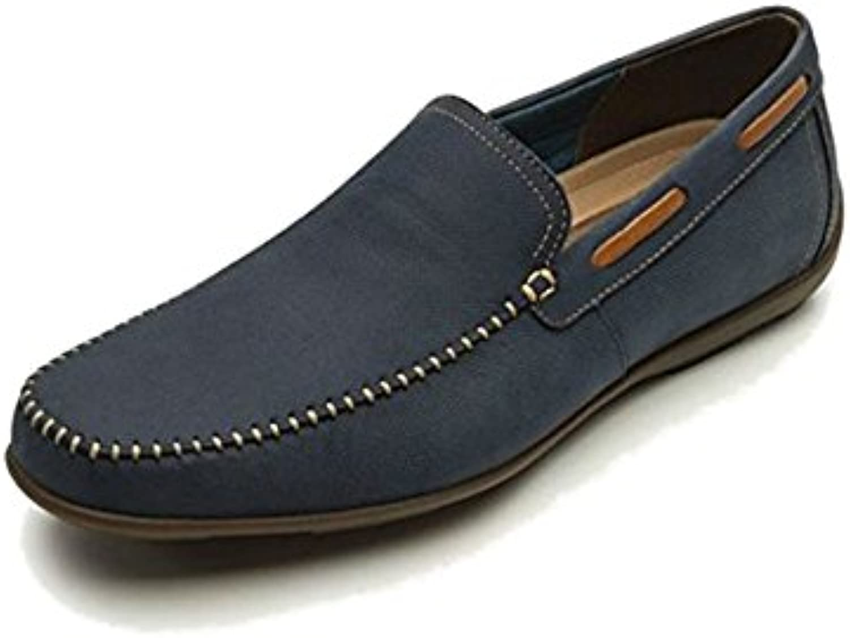 Flexi Shoes Herren Mokkasins Blau Blau