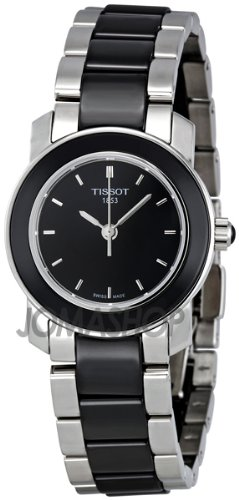 Tissot Tissot T-Trend Cera Negro Cerámica Damas Reloj T0642102205100