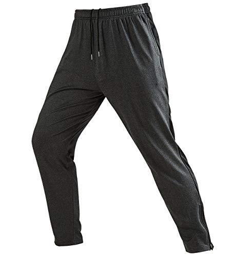 EK Uomo Pantaloni Sportivi Pantalone Felpa Tuta Palestra Jogger Sweatpants Tempo Libero Pants Jogging