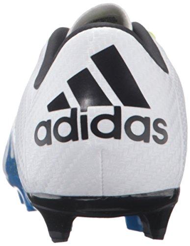 Adidas Kids X 15,3FG/AG J Fußball Keil White/Black/Semi Solar Slime