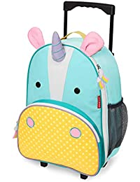 Skip Hop Zoo Luggage/Travel trolley for Children(with name tag), Unicorn