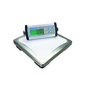 AE ADAM CPWplus 6 Plattformwaage mit Display, Kapazität: 6kg, Ablesbarkeit: 2g, 300x300mm