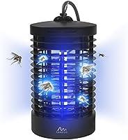 Gardigo 62301 Basta ZZZZZ - Zanzariera elettrica; Lampada Insetticida Ammazza zanzare con Luce UV; Trappola insetti - Portata 25 m², SGS GS