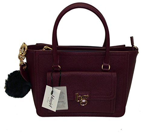 Borsa BAULETTO con tracolla due manici BLUGIRL BG 813001 women bag BORDO