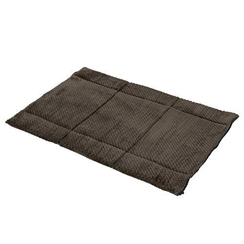 Hylotele 2 in 1 Faltbare Hundebett Memory Foam Dickes Haustier Matte Warme Abdeckung für 36 Zoll Hund Käfig Haus Boden Garten -