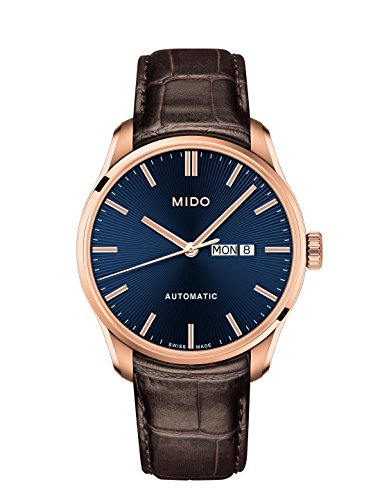 Mido Men's Belluna II 42.5mm Leather Band Automatic Watch M024.630.36.041.00