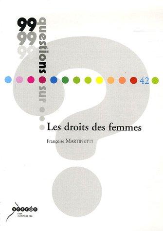 Les droits des femmes par Françoise Martinetti