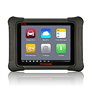 Autel Maxisys Elite, Car Diagnostic Scanner Tool with Vehicle Diagnostics & ECU Coding Systems via Wifi Bluetooth(Upgraded Version of MS908P)