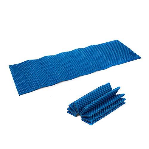 Naturehike outdoor hiking camping picnic moisture-proof foam mat materassino pieghevole in tenda impermeabile portable ixpe cuscino (blue)