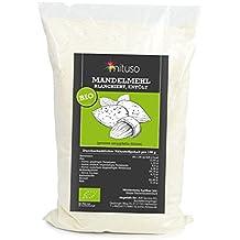 mituso Bio Mandelmehl, entölt, blanchiert, 1er Pack (1 x 1000g)