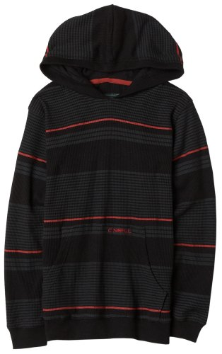 O'Neill Big Boys' Mc Coy Pullover Hoodie,Black,X-Large Holiday Boys Pullover