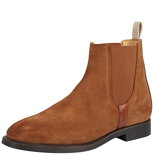 Gant Woman Boot Jennifer Suede Cognac *