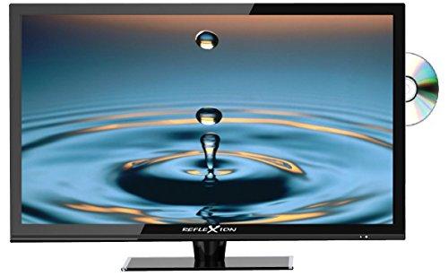 Reflexion LDD3286 81 cm (32 Zoll) LED-Fernseher mit DVD-Player, Triple-Tuner und 12 Volt Kfz-Adapter (HD Ready, HDMI, DVB-S / S2 / C und und DVB-T2 HD/T, USB, EPG, CI+) schwarz