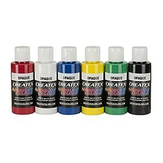 Createx Farbe Farben ab Primary Set Airbrush Opak-Set, 2 Oz. Opaque Colors
